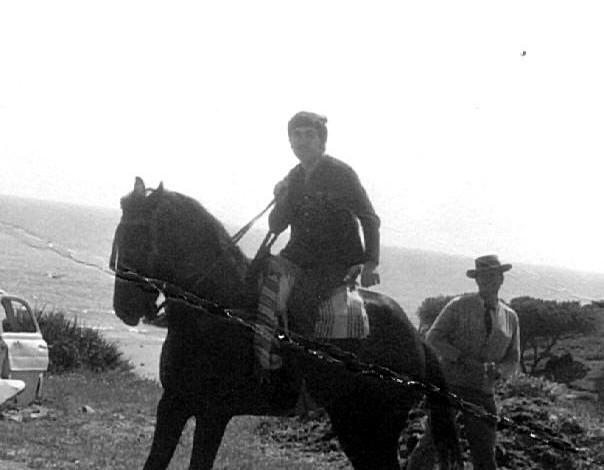 A caballo en la Indiana