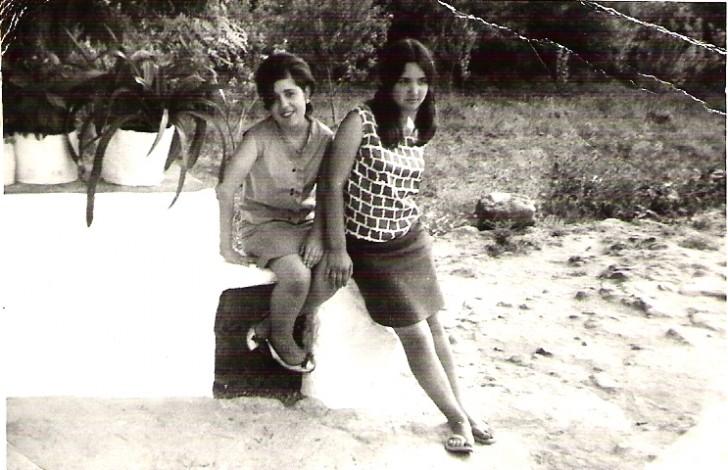 Mari Paz Trigo Vega y amiga