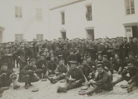 Ronda , Batallon dde soldados guerra civil