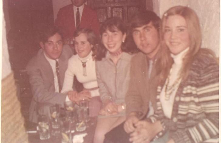 Emilio, Isabel, Maribel, Rosi, Juan Gil
