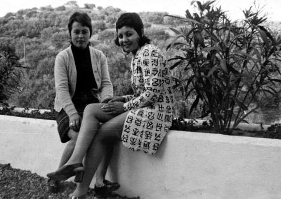 Loli y Ana Mari Gil en Calipso