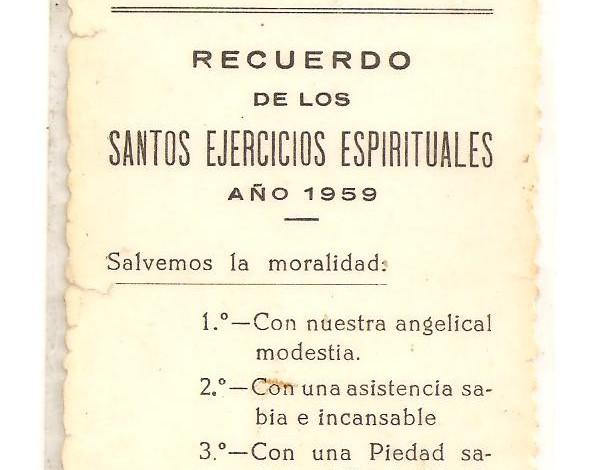 Santa teresa Ejercicios espirituales
