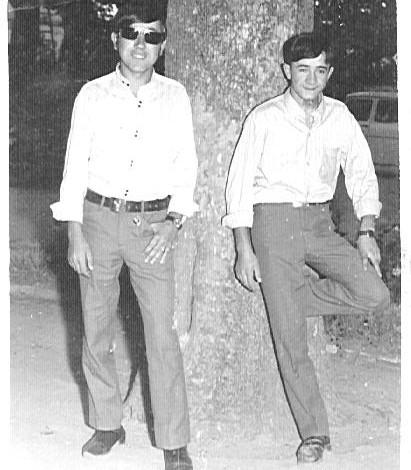 Juan Gil y mi Primo Jose Rosado
