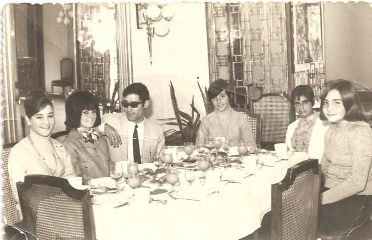 Paco Lamela y Su novia Amparo Zaya , Maribel Lamela etc