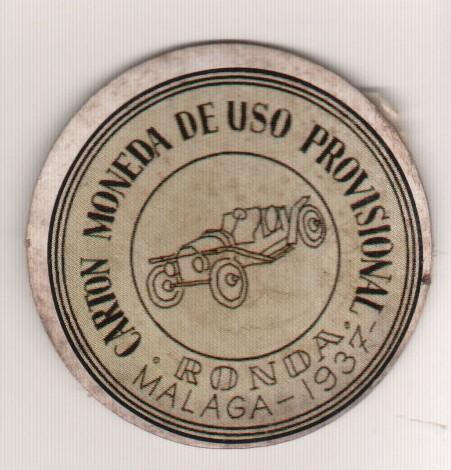 moneda uso provisional Ronda