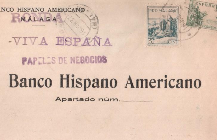 Ronda banco Hispano Americano