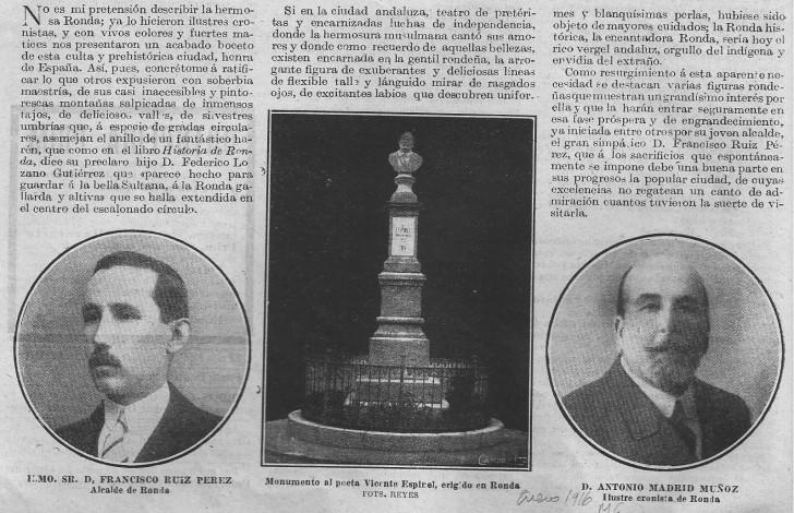 Monumento a Vicente Espinel