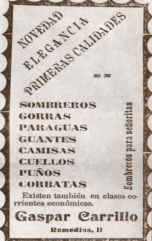 Publicidad Gaspar Carrillo