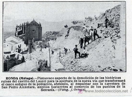 Demolicion castillos laurel