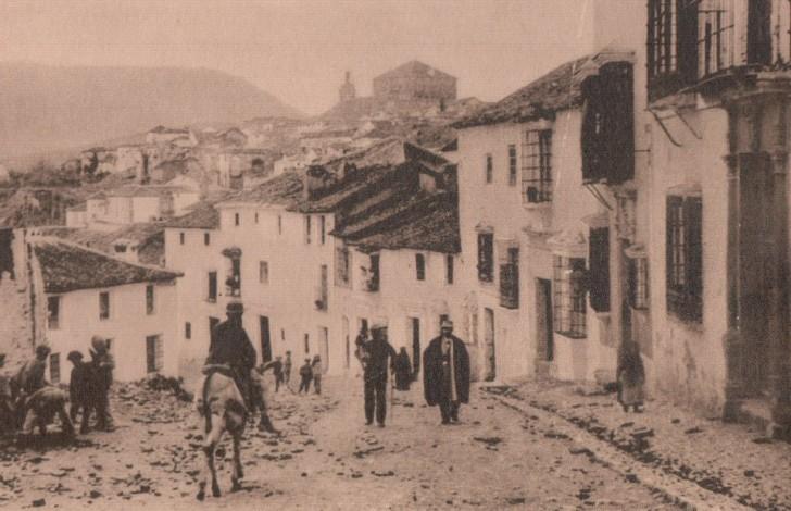 muy antigua calle Ronda
