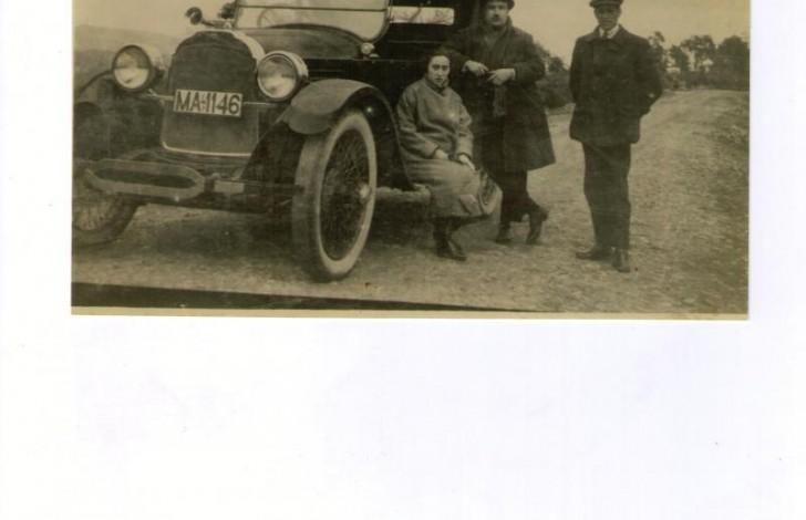 primer taxi en Ronda