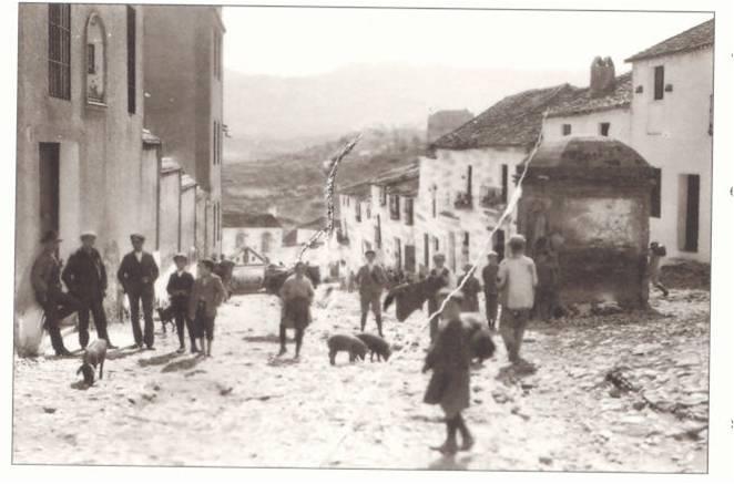 muy antigua calle de Ronda