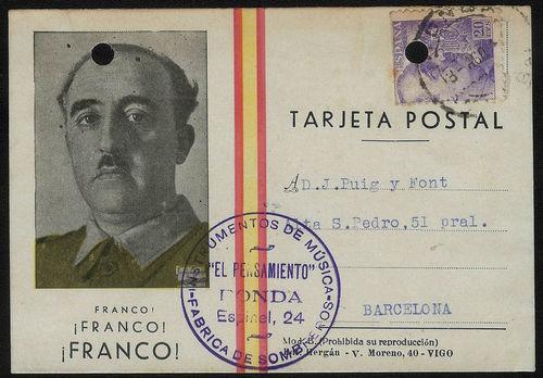 Tarjeta Postal de El Pensamiento Ronda